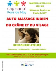 180428 affiche auto-massage indien crâne-visage tania