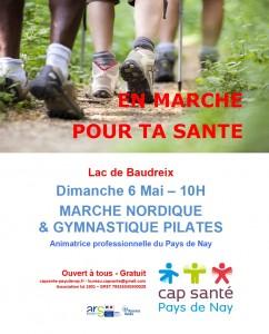 20180506 - affiche marche nordique & gymnastique pilates