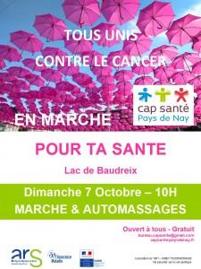 20181007 affiche marche & automassages - octobre rose
