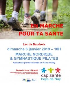 20190106 marche nordique et gymnastique pilates