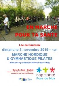20191103 marche nordique & gymnastique pilates