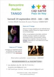 affiche - flyer tango les ateliers du 30